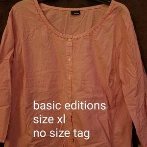Lot of 4 basic edition shirts